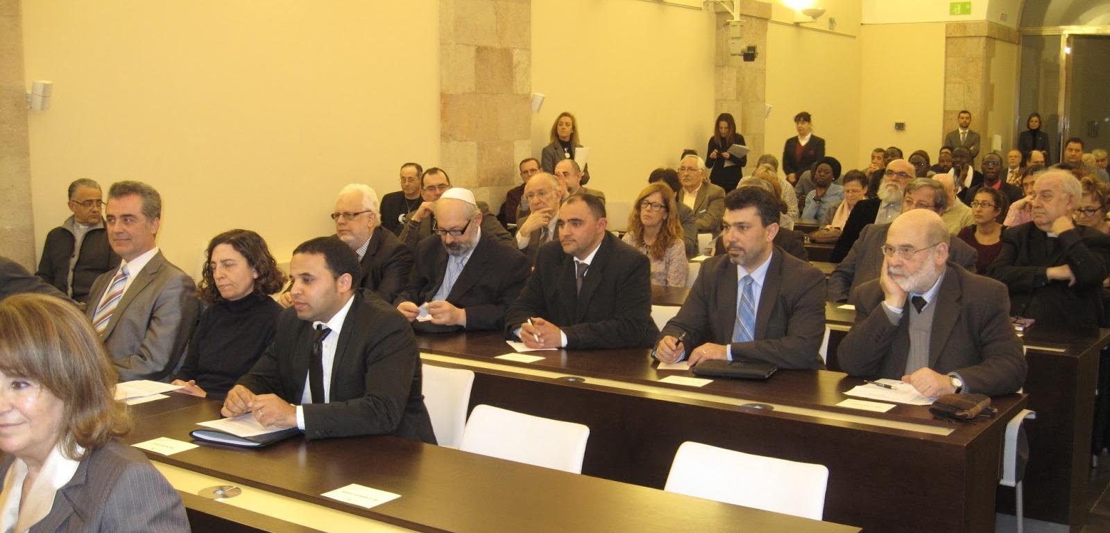 El Parlamento de Cataluña y el diálogo interreligioso