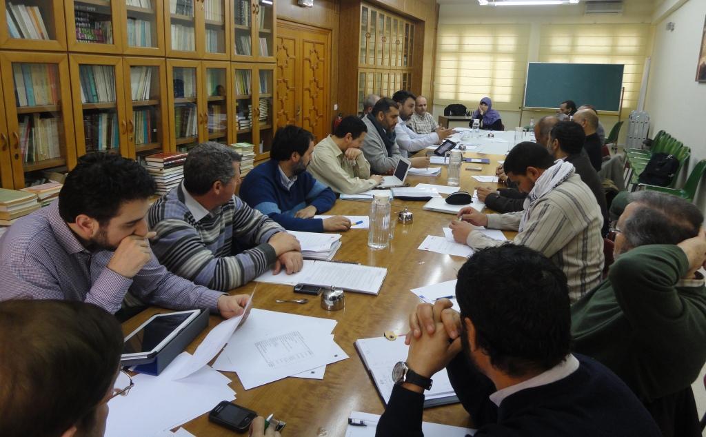 Primera reunión ordinaria del Consejo consultivo de la UCIDE en 2013