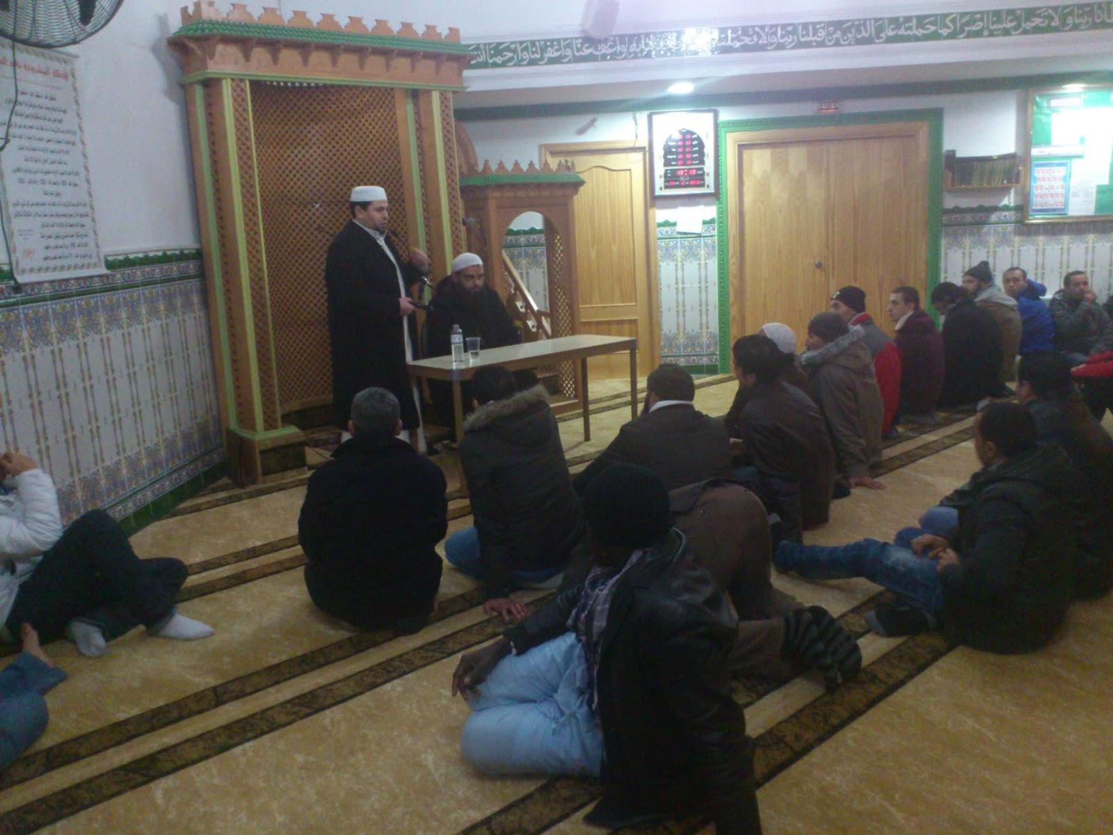 Acción islámica plural en la Mezquita Badr