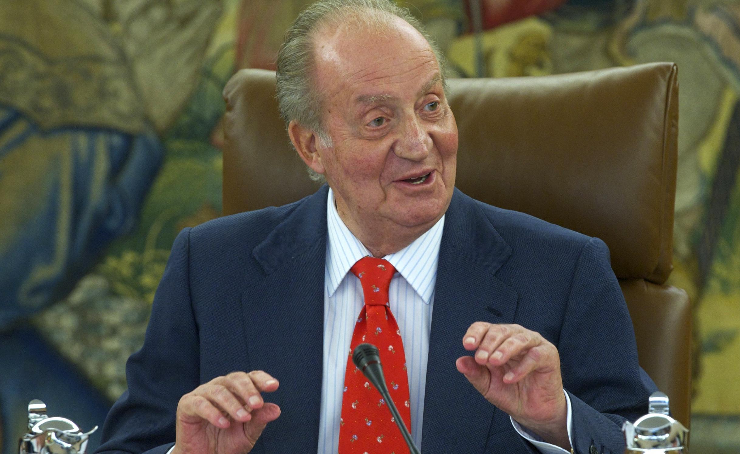 El Rey Juan Carlos agradece los buenos deseos de recuperación