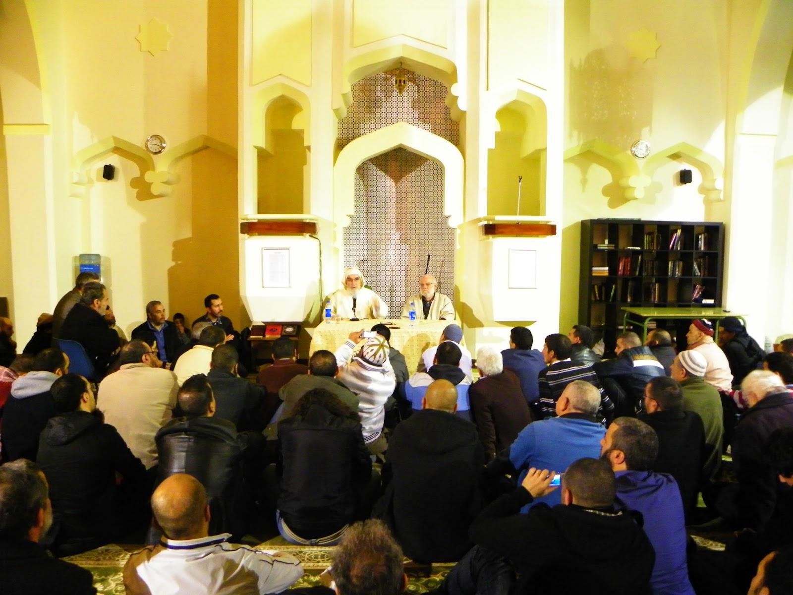 الشيخ العياشي أفيلال يزور مسجد مدريد المركزي