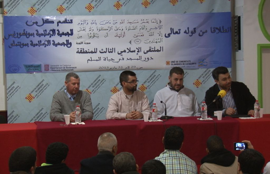 Inauguración del tercer encuentro islámica del Vallés Oriental