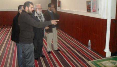 Riay Tatary visita a la Mezquita de Navalcarnero