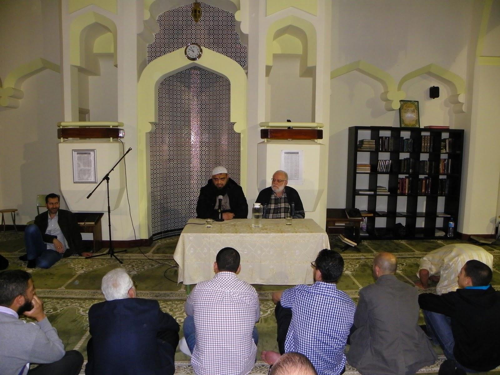 El Shaij Ibrahim Dusuquí participa en la conmemoración del 25º Aniversario de la Mezquita Central de Madrid