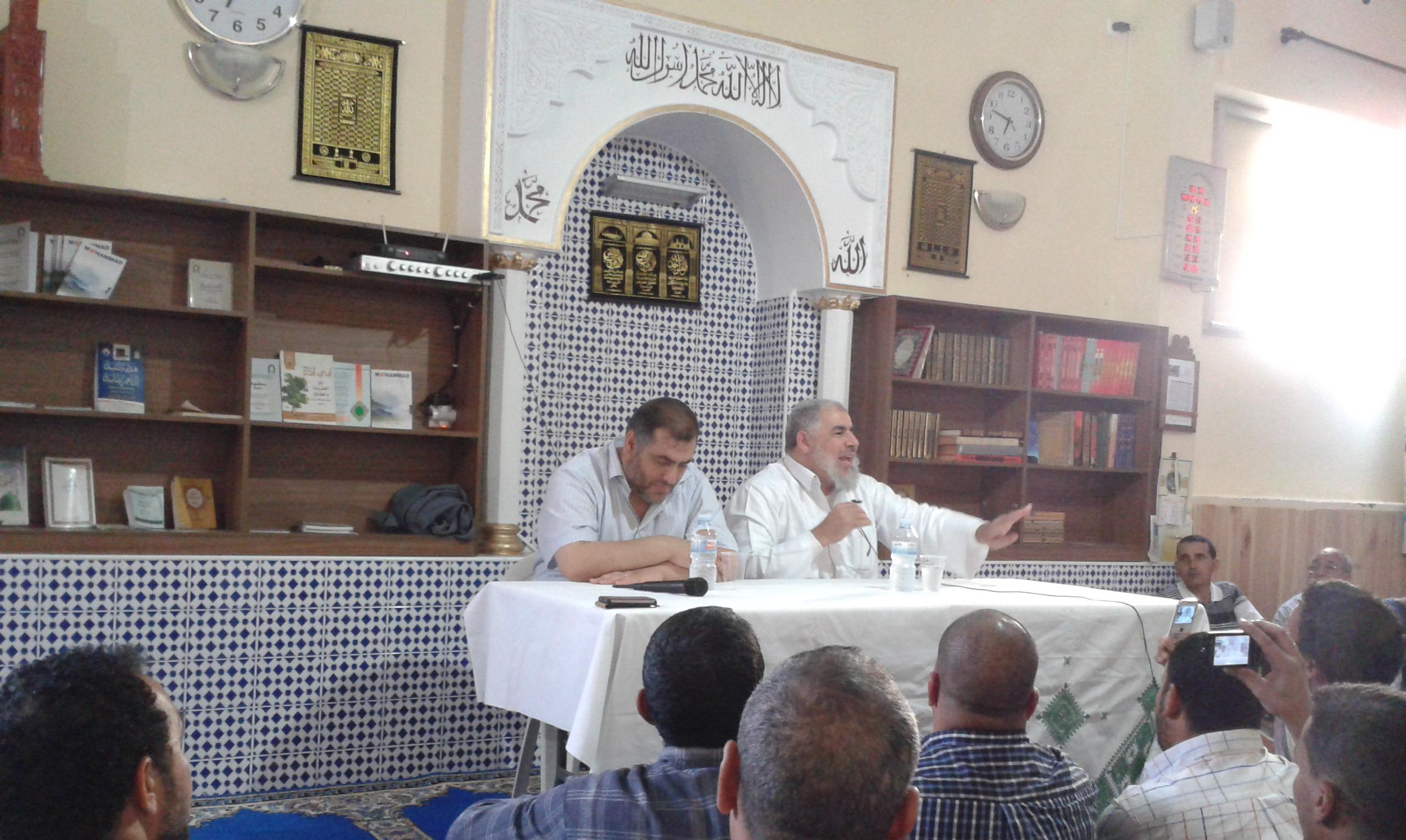 Conferencia del Shaij Abdelsalam Al Basiuni en la Mezquita Al Faruq ( Extremadura )