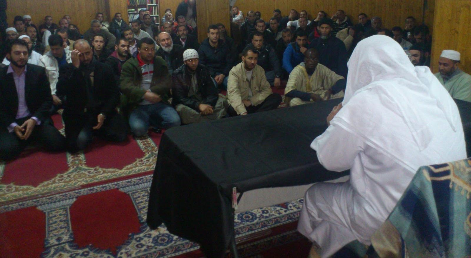 El Shaij Al Basiouni en Logroño: Confía en el Creador