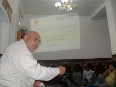 لقاء تواصلي في مسجد الكرامة