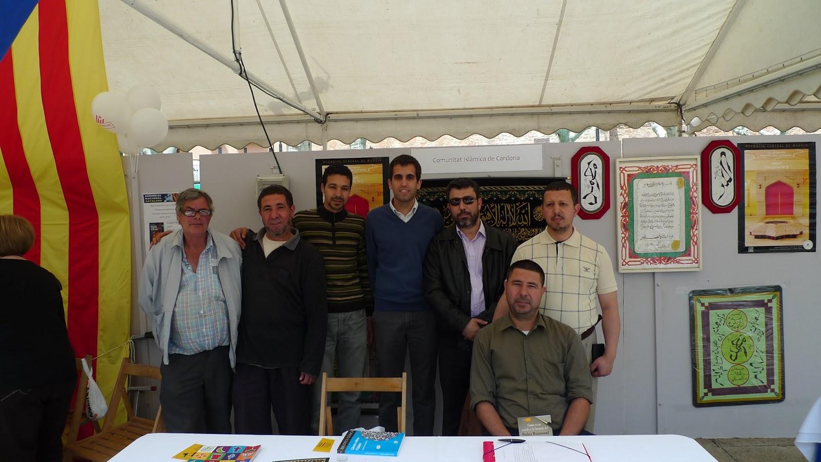 UCIDCAT visita a la Feria de Entidades del municipio de Cardona