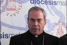 Obispo de Málaga don Jesús Catalá