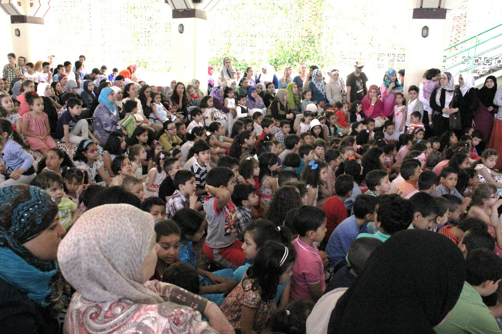 Fiesta de fin de curso de la Escuela árabe islámica de Madrid-2012-13