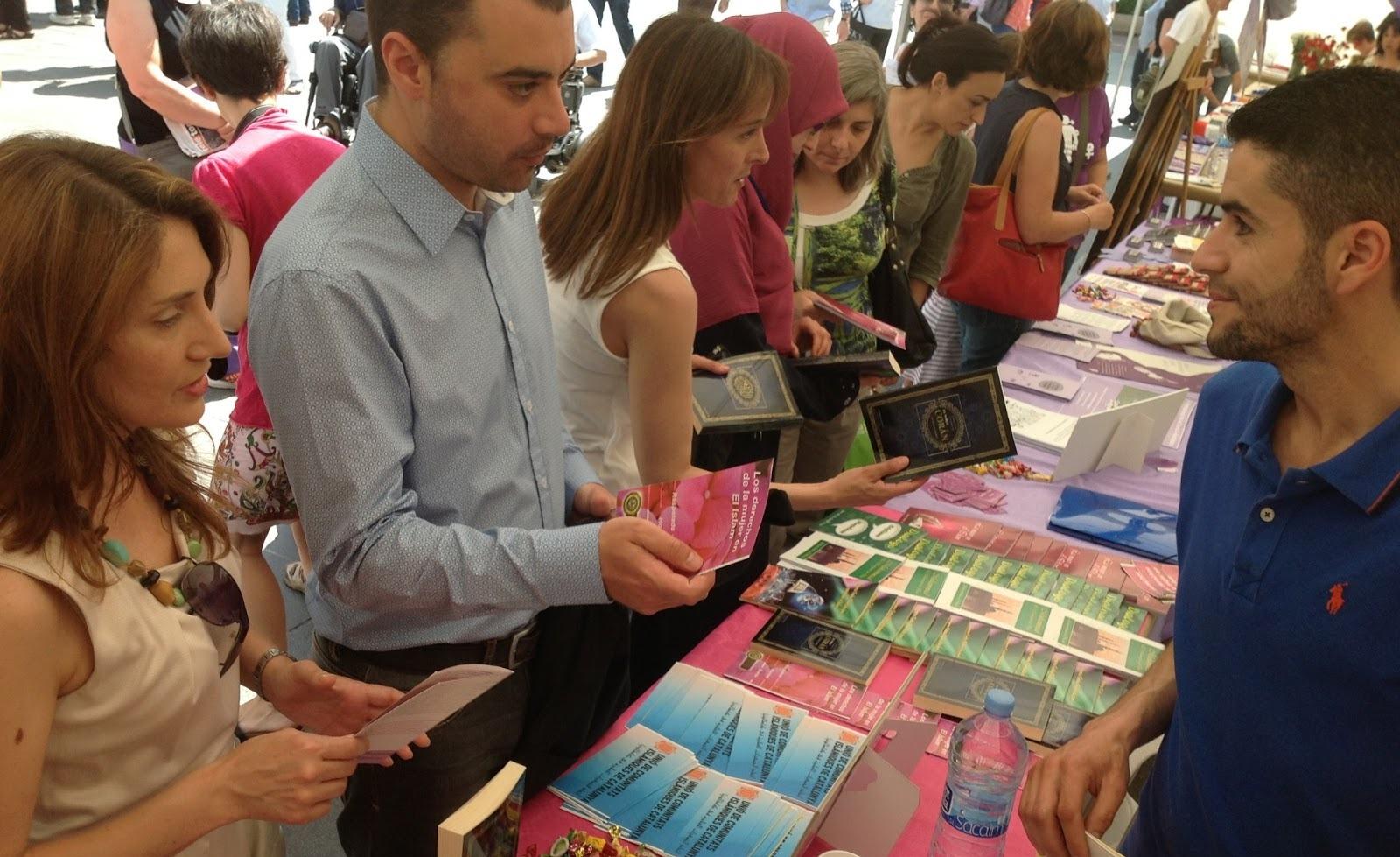 UCIDCAT participa en la 10 ª Feria de Entidades para la Igualdad