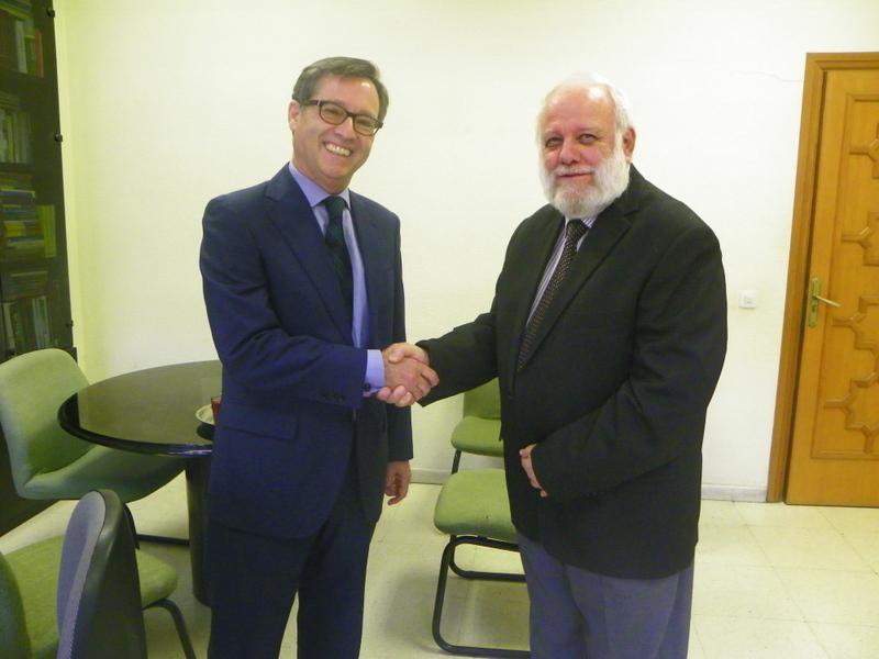 El Director General Ángel Llorenet de visita a la sede de la UCIDE