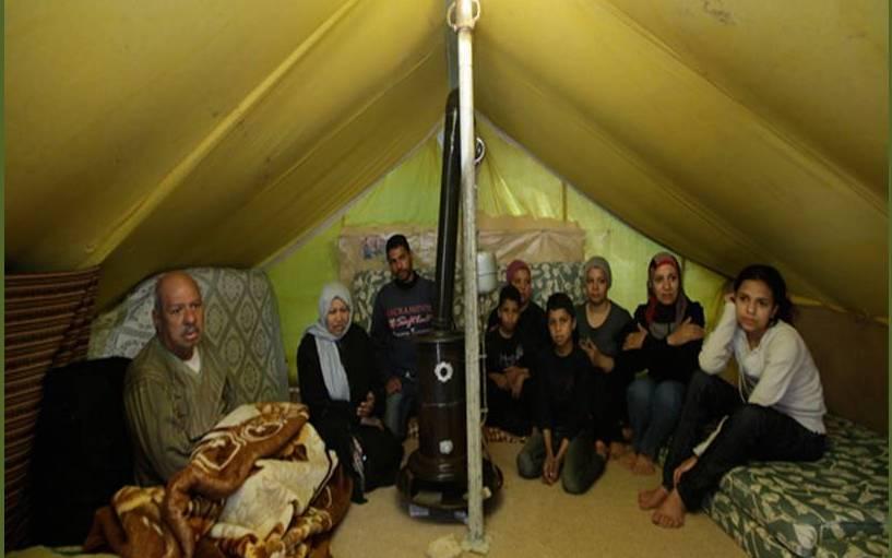 Campaña a favor de los refugiados palestinos en Siria