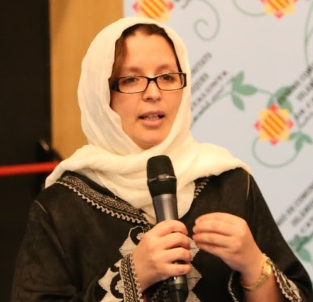Khadija Salhi promotora de comedor Arrahman