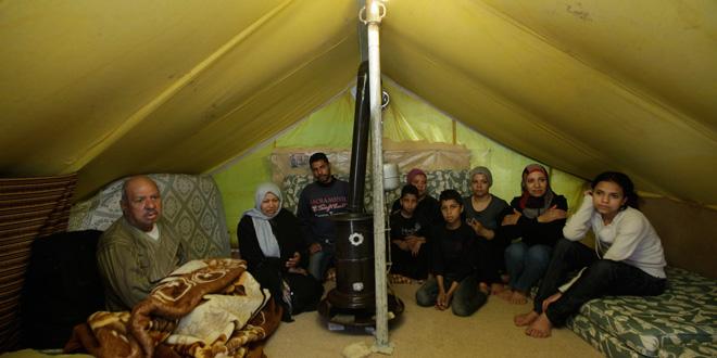 حملة لصالح اللاجئين بالمخيمات الفلسطينية بسوريا