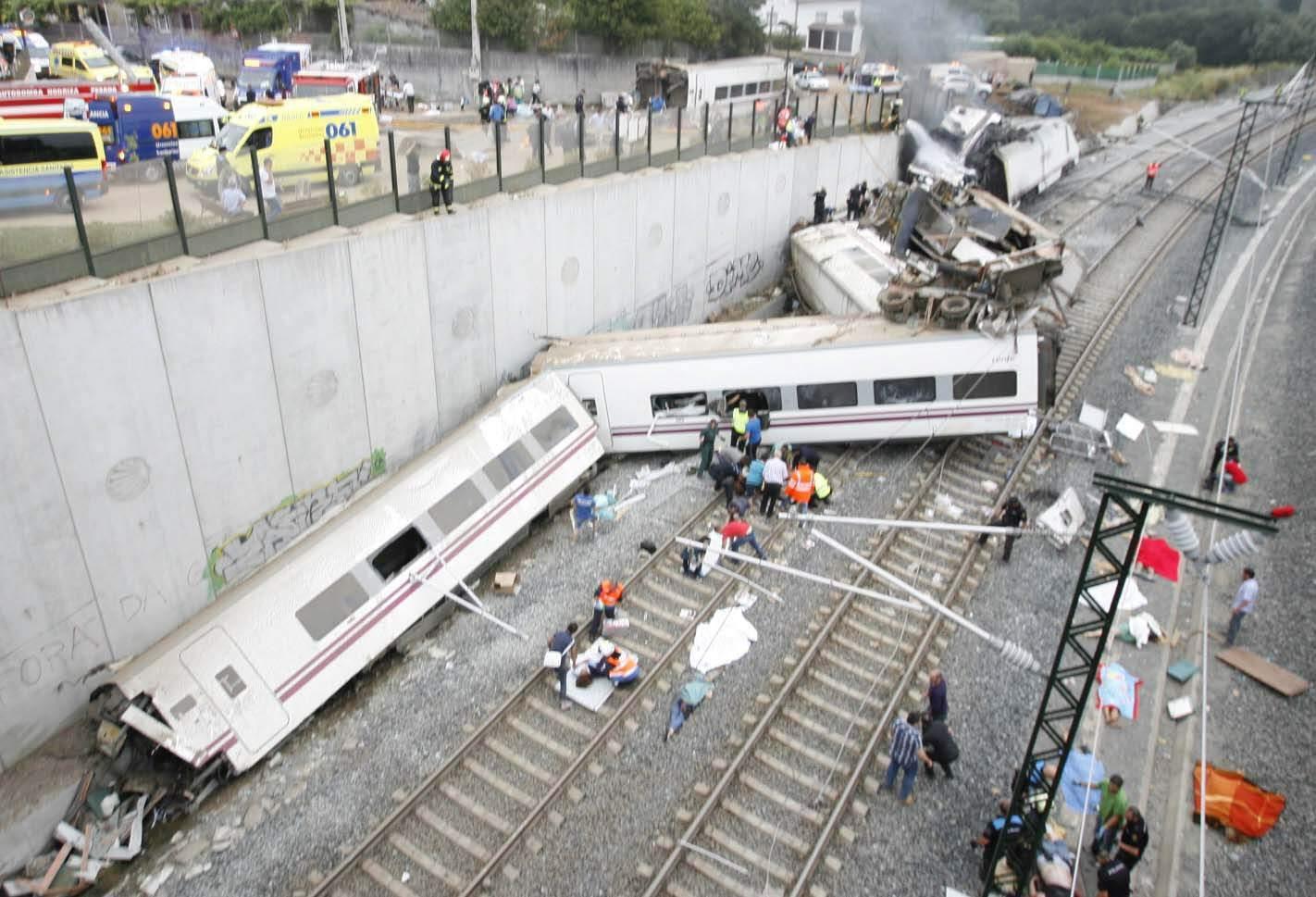 تعزية لضحايا حادث قطار سانتياغو