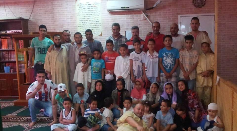 Fiesta de fin de curso en la mezquita Qobaa