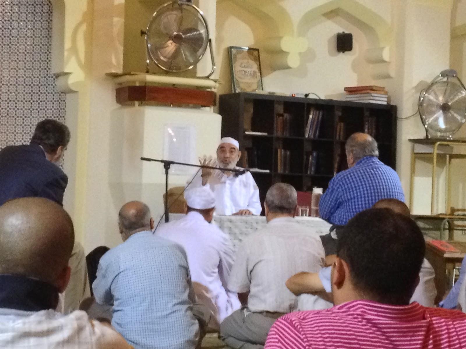 Kailani diserta sobre la Zona del Sham en la tradición musulmana