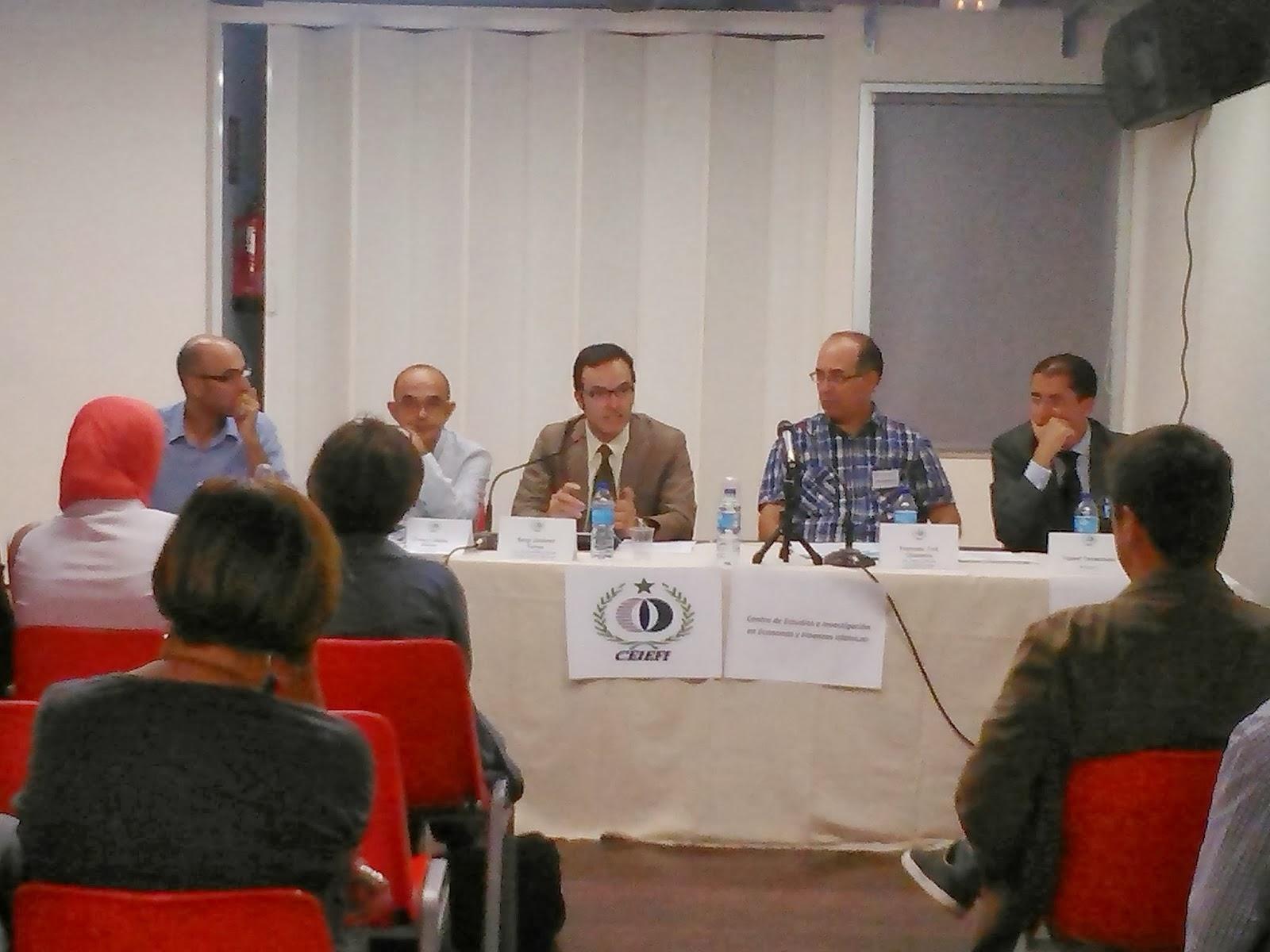 Acto inaugural del Centro de Estudios e Investigación Económica y Finanzas Islámicas (CEIEFI)