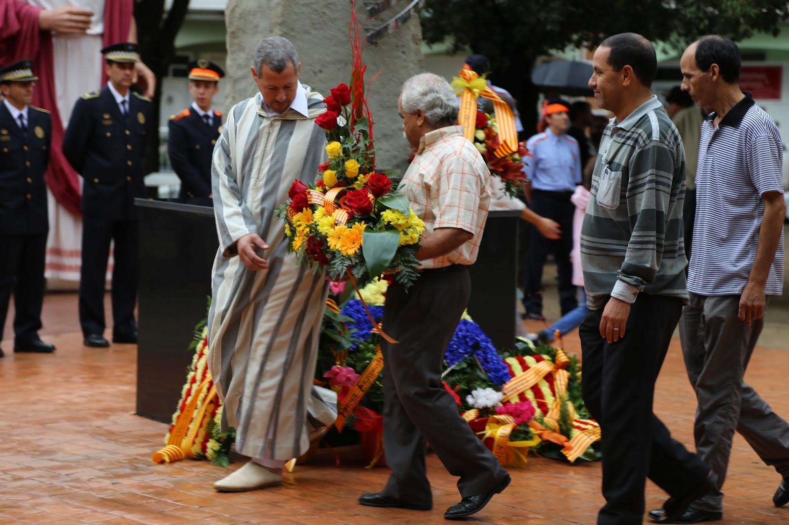 الجمعية الإسلامية في مونتميلو تشارك في إحتفال اليوم الوطني لكاطالونيا