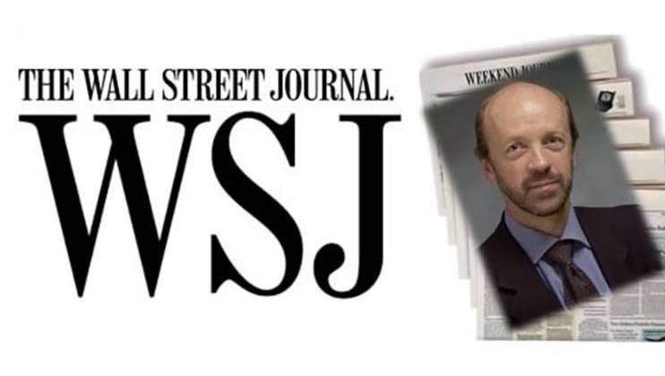 El Presidente de la UCIDE recibe al corresponsal del Wall Street Journal