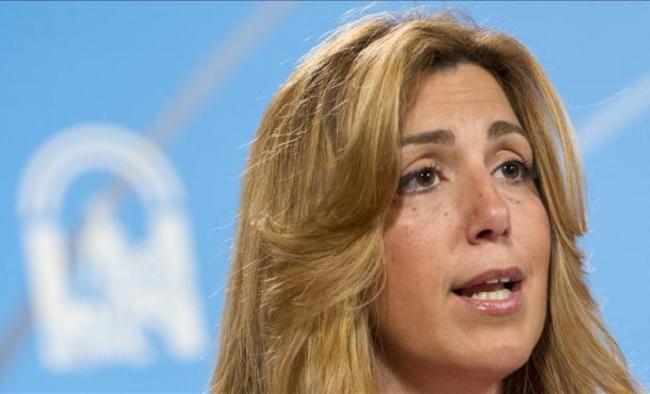presidenta de la junta de Andalucía Susana Díaz Pacheco.