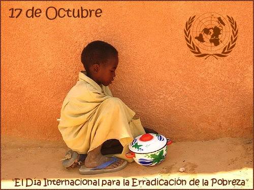 El Día Internacional para la Erradicación de la Pobreza