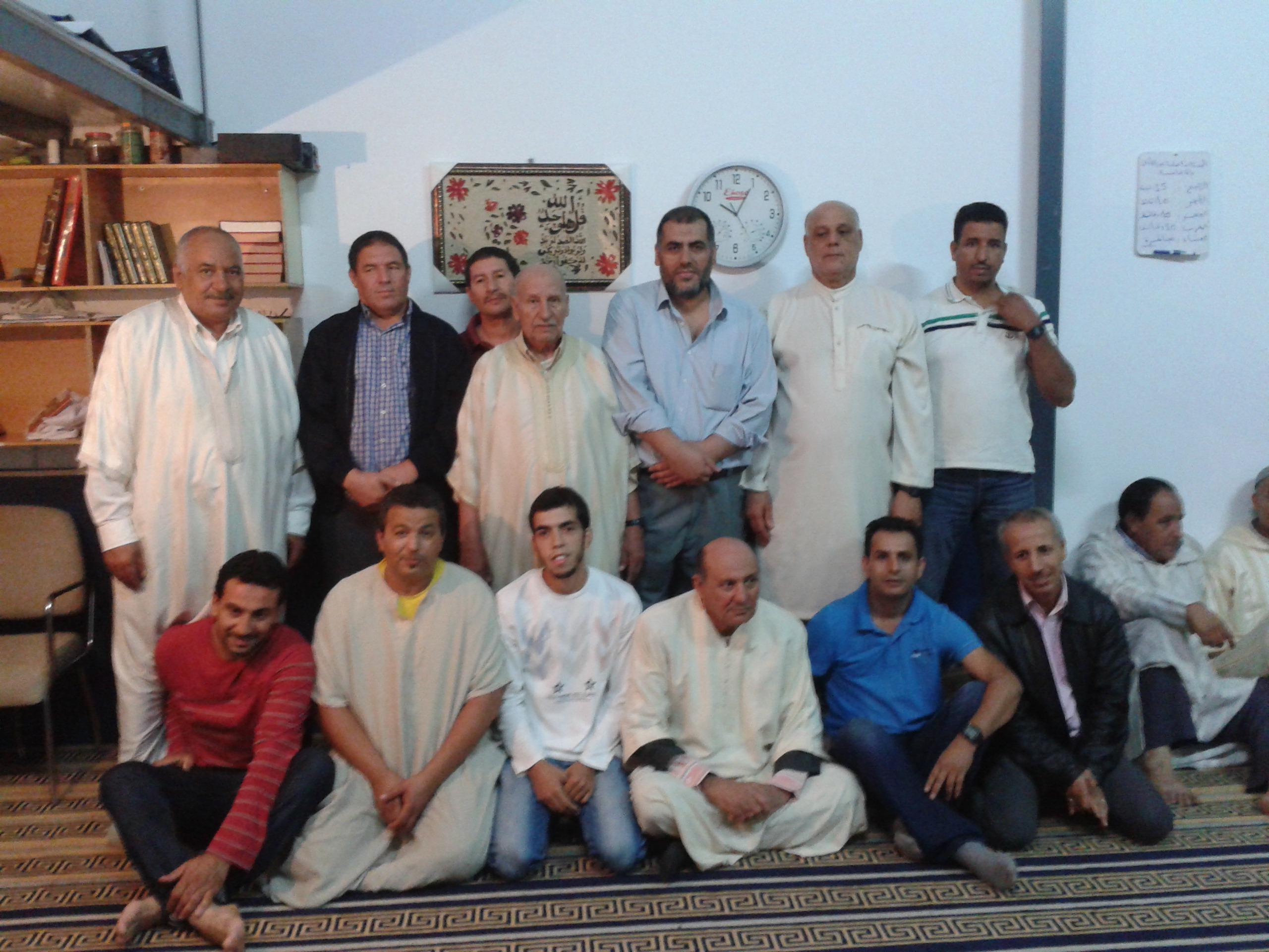 Reunión con la comunidad islámica La Paz de Almendralejo