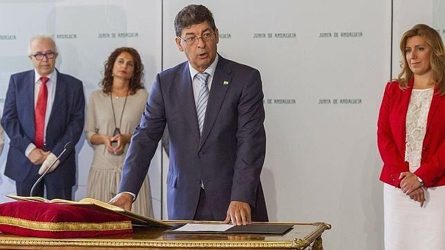 Diego Valderas, Vicepresidente y Consejero de Administración Local y Relaciones Institucionales de la Junta de Andalucía