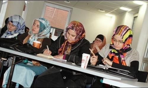 دورة في الفقه الإسلامي للنساء بمسجد مدريد