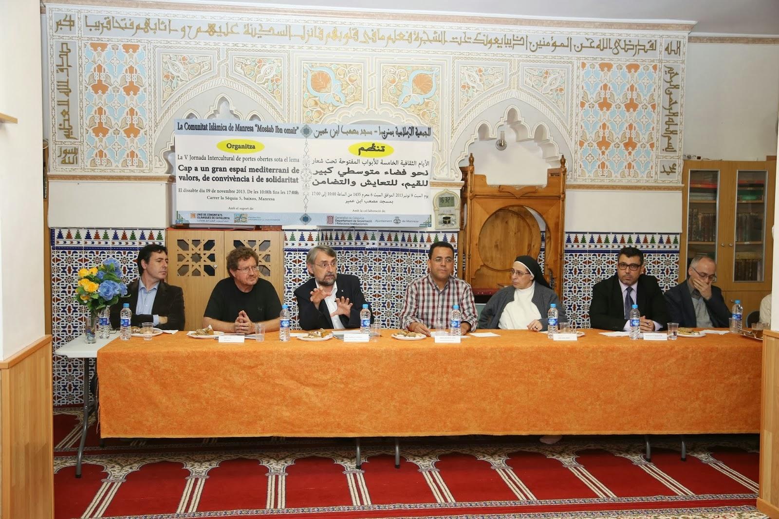 La Comunidad Islámica de Manresa organiza la quinta jornada intercultural de puertas abiertas