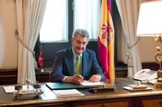 Presidente del Congreso de los Diputados,  D. Jesús Posada