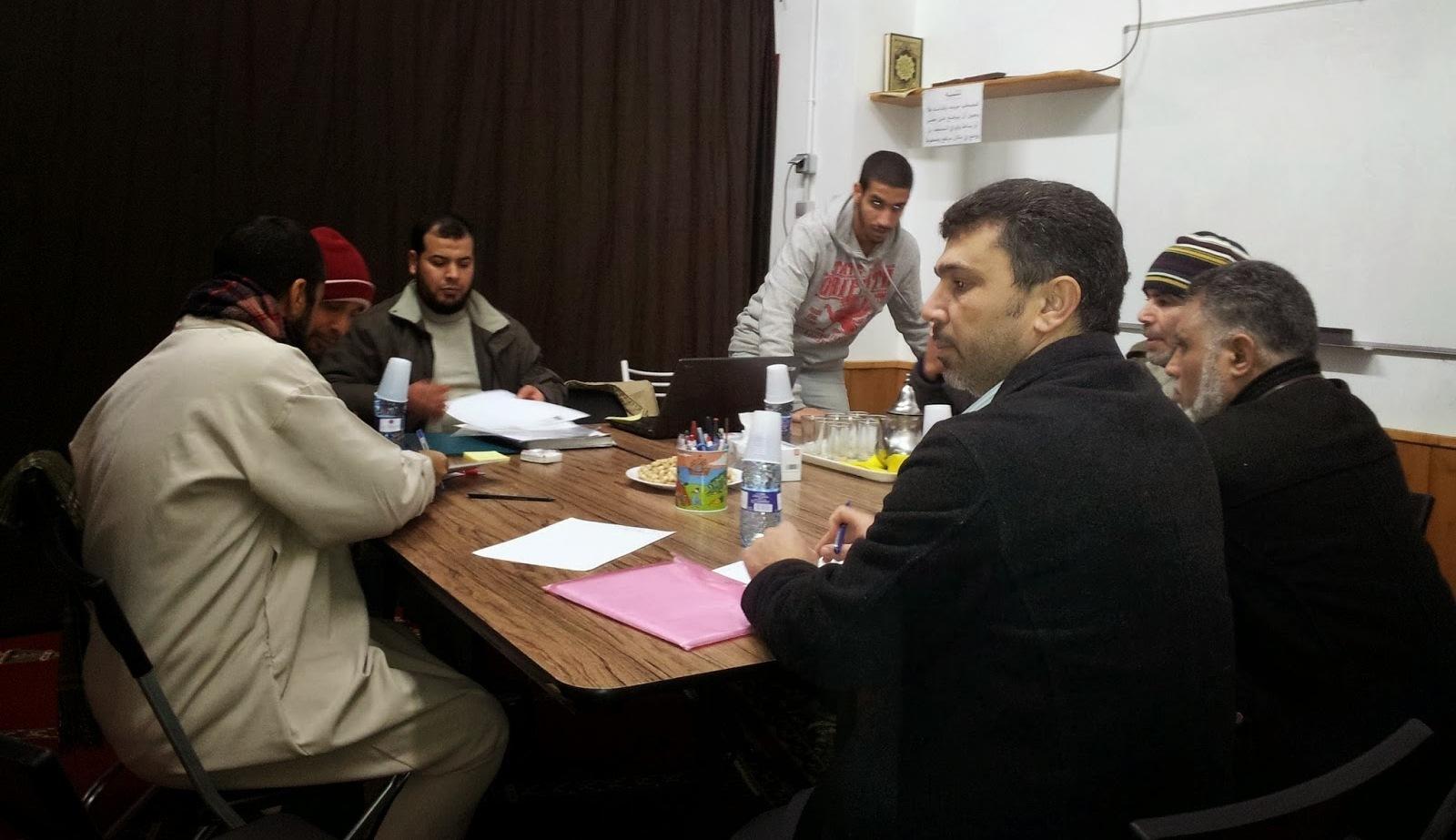 El presidente de UCIDCAT se reúne con la nueva junta de la Asociación Islámica Ciudad Meridiana