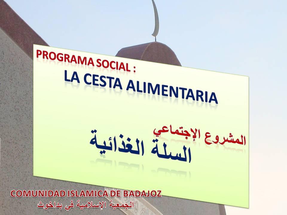"Programa Social "" La Cesta Alimentaria """