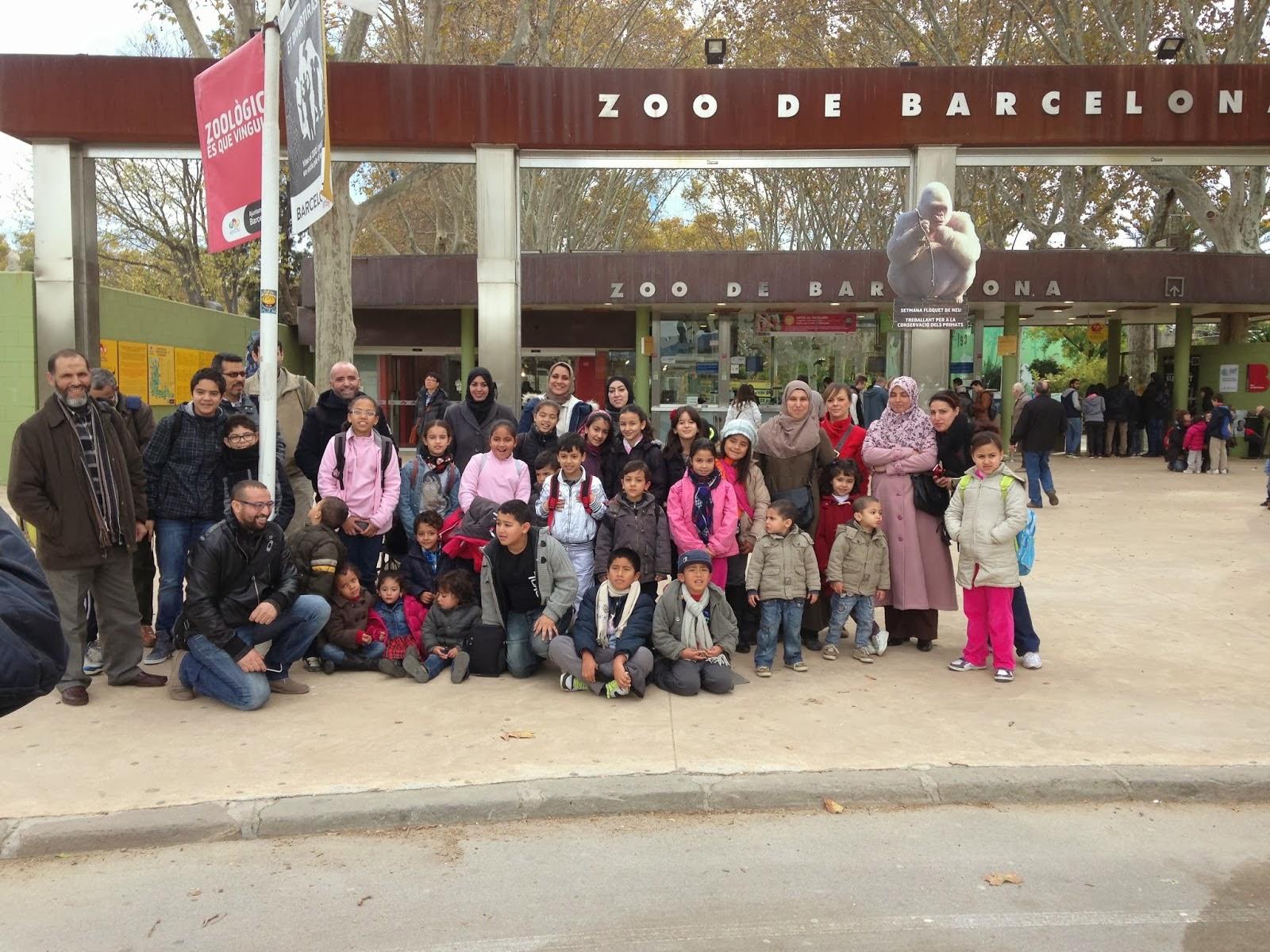 La Comunidad Islámica Al-Ijlas organiza una excursión al parque Zoológico de Barcelona