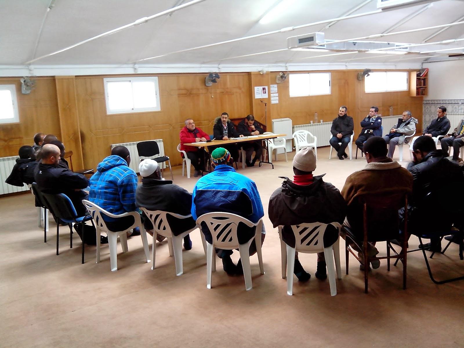 Reunión ordinaria de la Unión de Comunidades Islámicas de Aragón