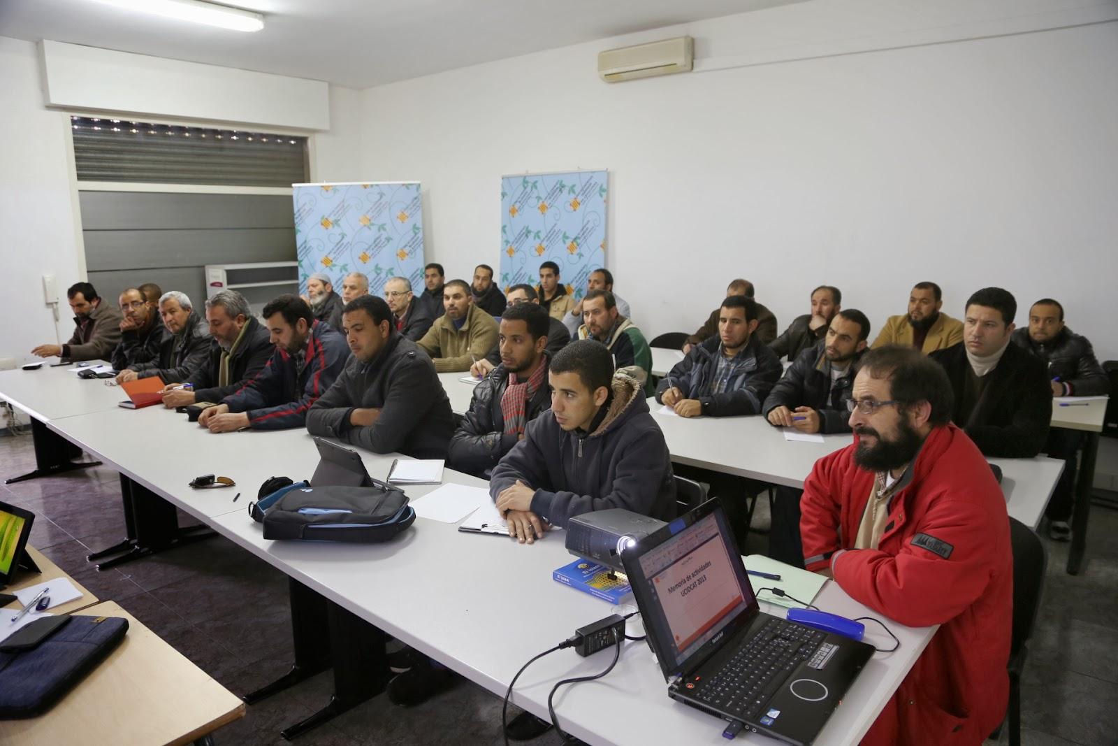 Celebración de la Asamblea General Ordinaria de la Unión de comunidades islámicas de Cataluña