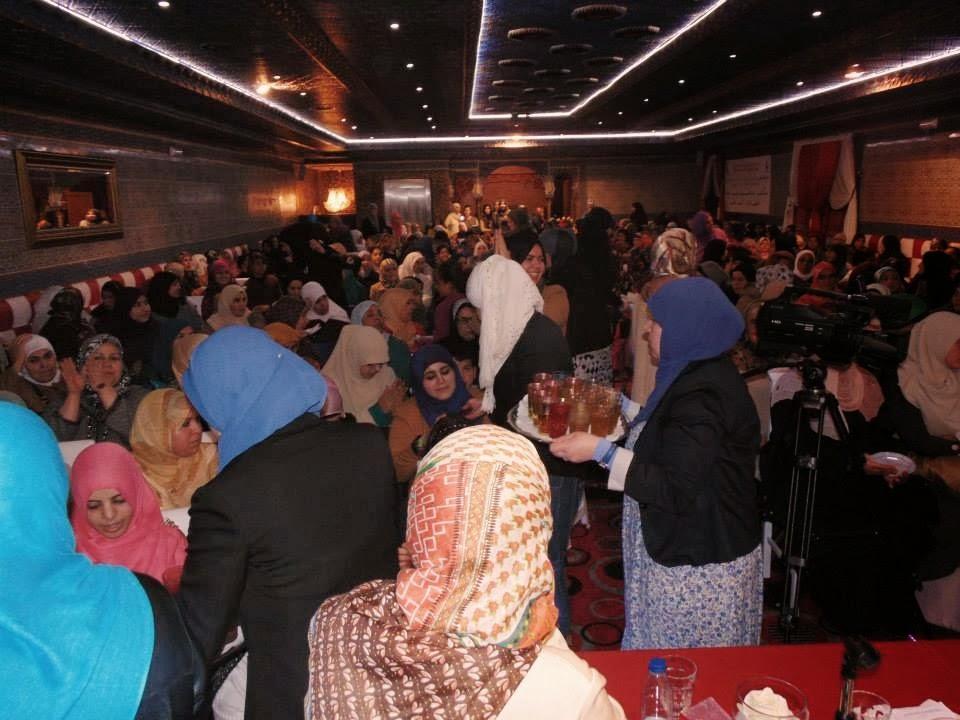 Naima Benyaich y Noureddin Bousbih invitados por la Comunidad islámica de Fuenlabrada Al-Umma