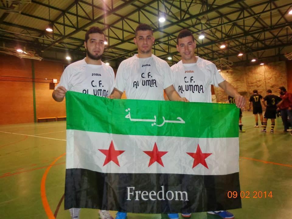 """Freedom Siria, en el corazón de los Jóvenes de """"Alumma"""""""