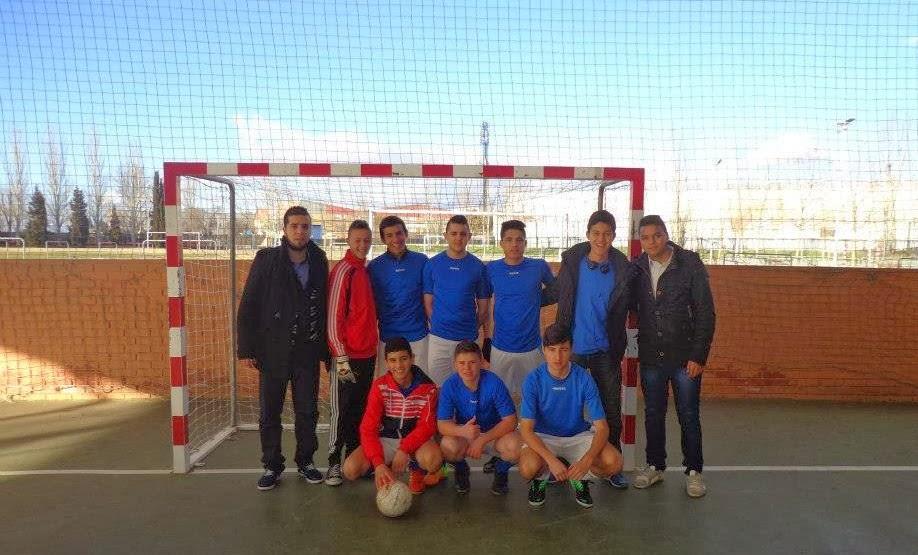 Los jóvenes de la Comunidad Islámica de Fuenlabrada participan en la liga de Fútbol Sala