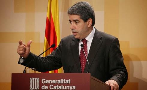 Francesc Homs, Conseller de Presidencia de la Generalitat de Catalunya