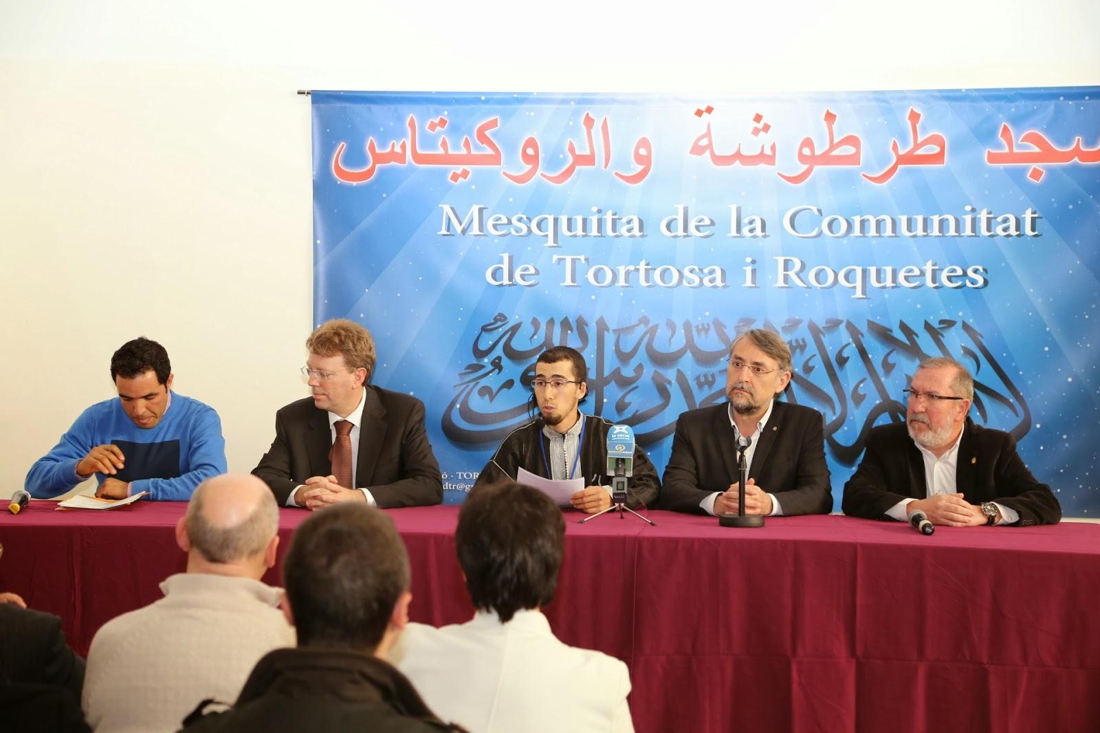 Inauguración de la nueva Mezquita en Tortosa