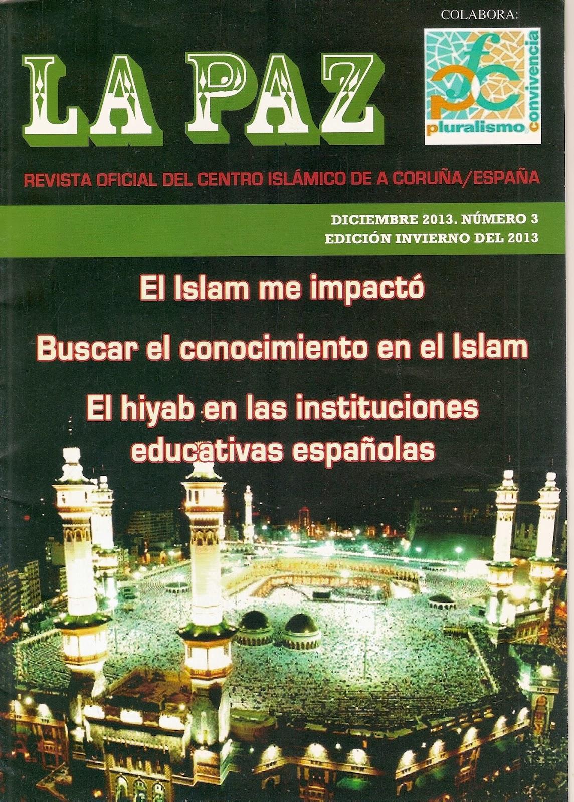 Se ha publicado el nuevo número de la revista La Paz en A Coruña