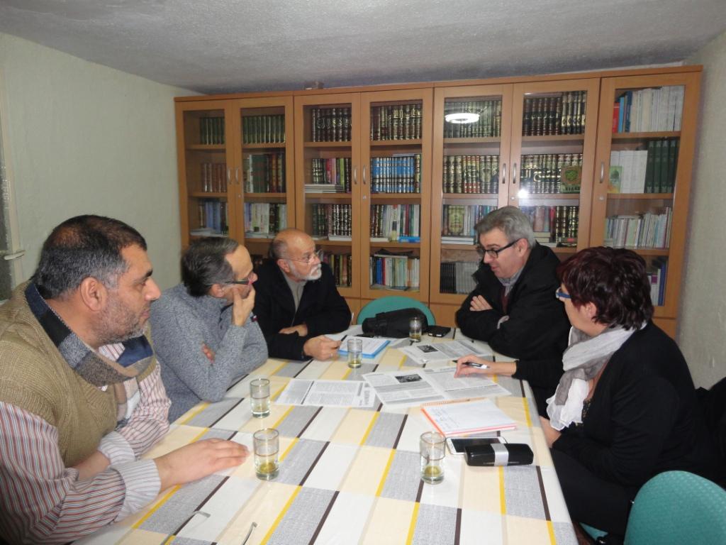 La Mezquita de Badajoz acoge la Reunión de la Comisión Comunitaria de Salud