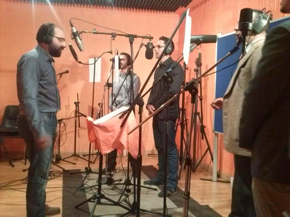 Grupo Al Umma graba cantos religiosos islámicos en Fuenlabrada