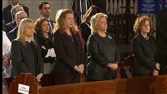Agradecimiento asistencia a la Misa funeral del pasado 11 de marzo