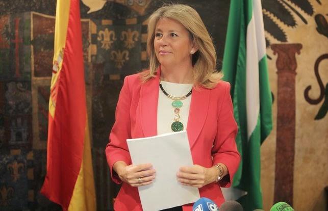 Tatary invitado al informativo con doña Ángeles Muñoz, Alcaldesa de Marbella