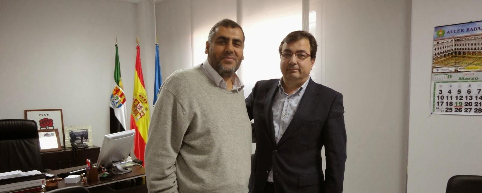 Adel Najjar se entrevista con Guillermo Vara