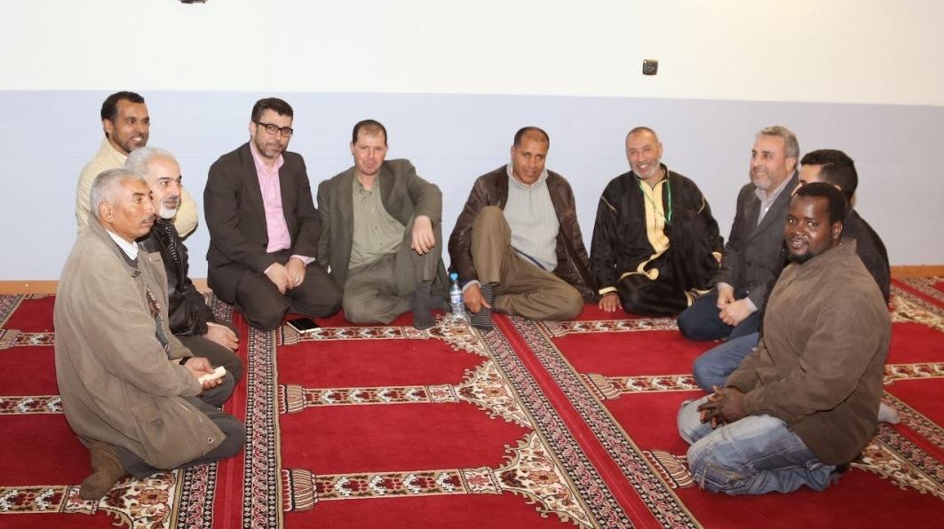 El presidente de UCIDCAT se reúne con varios representantes de las comunidades islámicas de la provincia de Lleida.