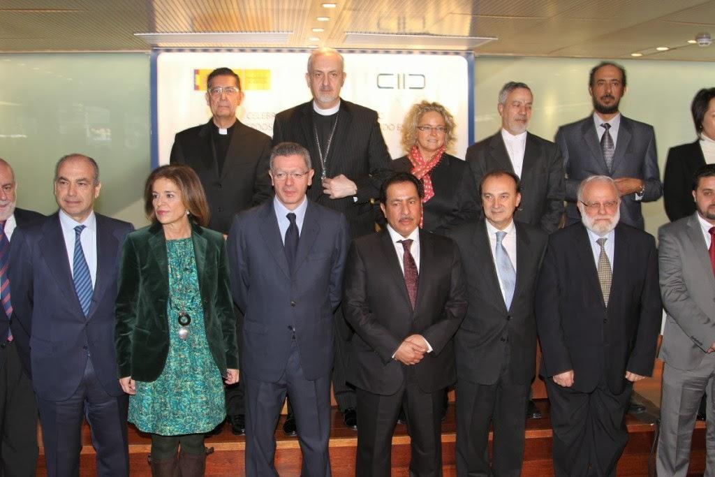 Justicia se reúne con representantes de las principales confesiones religiosas por el XX aniversario de los acuerdos firmados con musulmanes, judíos y evangélicos 31 de enero 2013